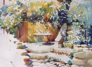 VVeranda in Bonnieux, Provence