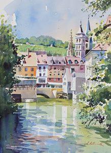 Rossneckarkanal, Esslingen